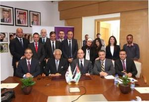 Amman into a Smart City an Agreement signed between Optimiza & GAM